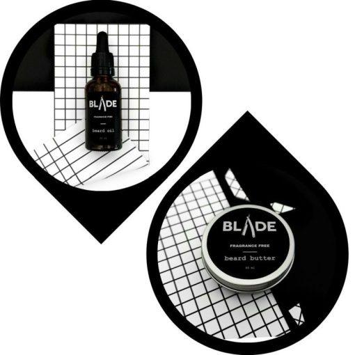 Blade Szakállápolás Szakállolaj & szakállvaj csomag - illatmentes