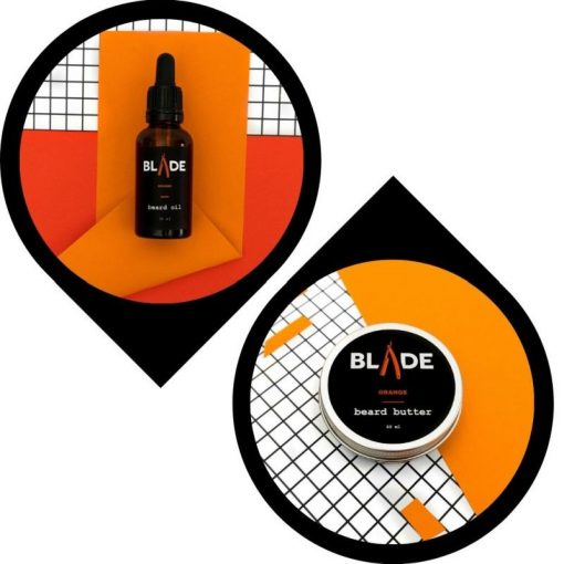 Blade Szakállápolás Szakállolaj & szakállvaj csomag - narancs