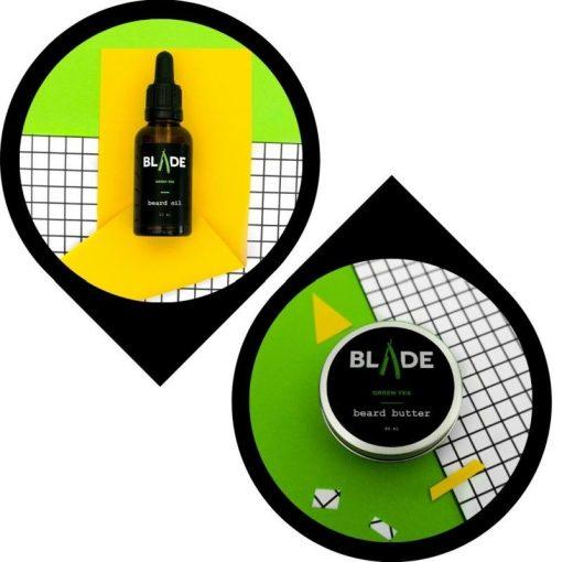 Blade Szakállápolás Szakállolaj & szakállvaj csomag - zöld tea