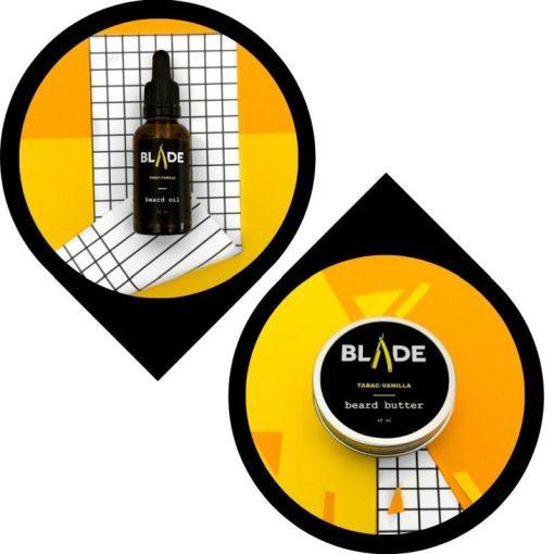 Blade Szakállápolás Szakállolaj & szakállvaj csomag - dohány-vanília