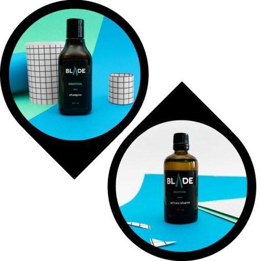 Sampon & aftershave csomag - mentol